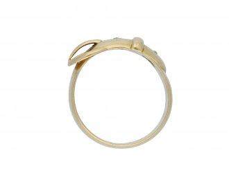 Diamond buckle ring hatton garden