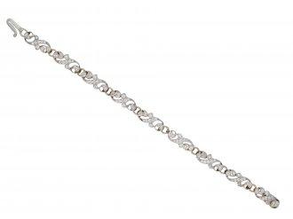 Edwardian diamond bracelet hatton garden