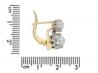 Belle Époque diamond drop earrings hatton garden
