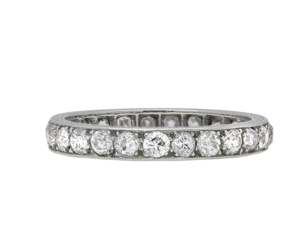 Diamond full eternity band hatton garden