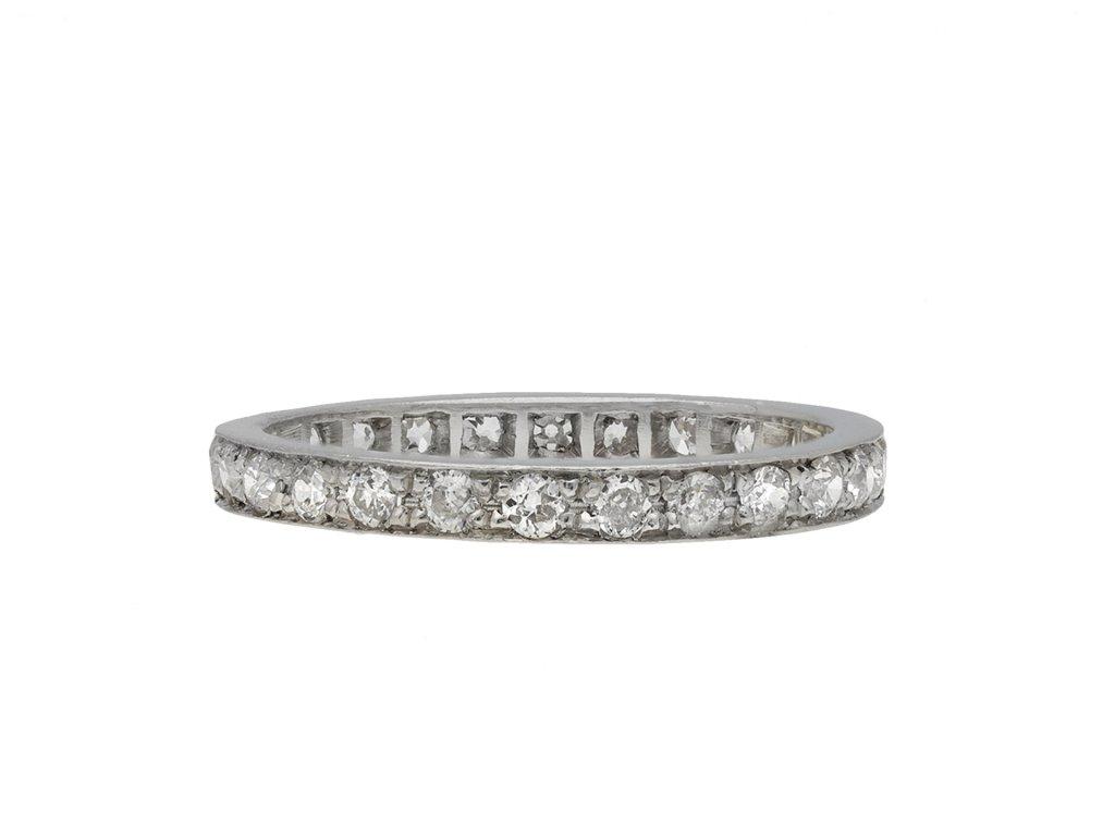 Diamond Full Eternity Ring hatton garden