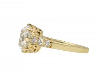 Old mine diamond solitaire ring hatton garden