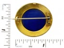 size view Mosaic brooch with a fine gold work,