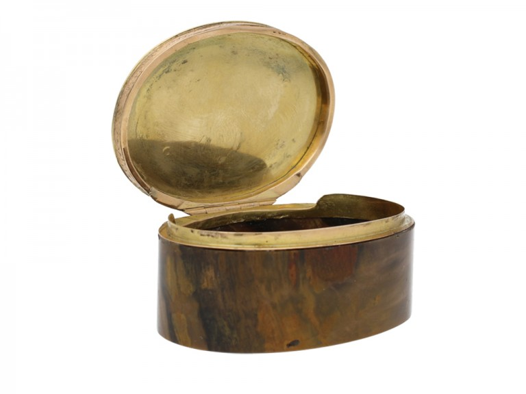 Gold topped stone box, Circa 1900 berganza hatton garden