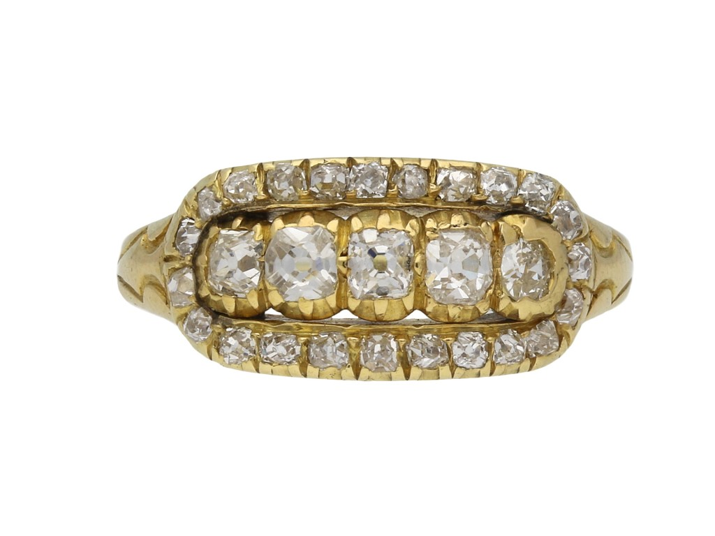 Edwardian diamond ring Wilson & Sharp berganza hatton garden