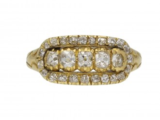 Edwardian diamond ring Wilson & Sharp berganza hatton garden