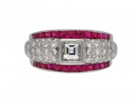 Ruby and diamond ring hatton garden berganza