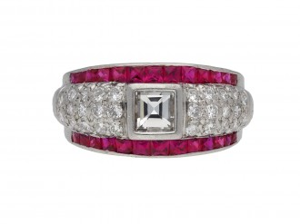 Ruby and diamond ring hatton garden berganza