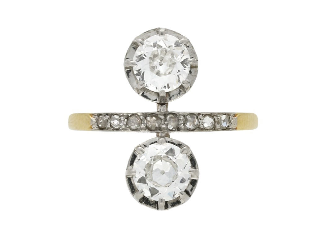 Antique diamond ring/earrings berganza hatton garden