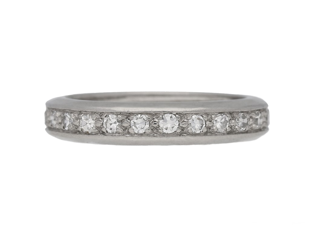 antique diamond eternity ring berganza hatton garden