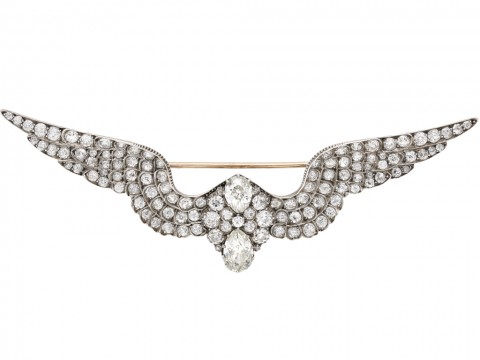Carlo Arthur Giuliano diamond brooch berganza hatton garden