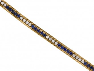 Oscar Heyman Brothers sapphire diamond berganza hatton garden