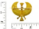 size view Egyptian revival brooch.