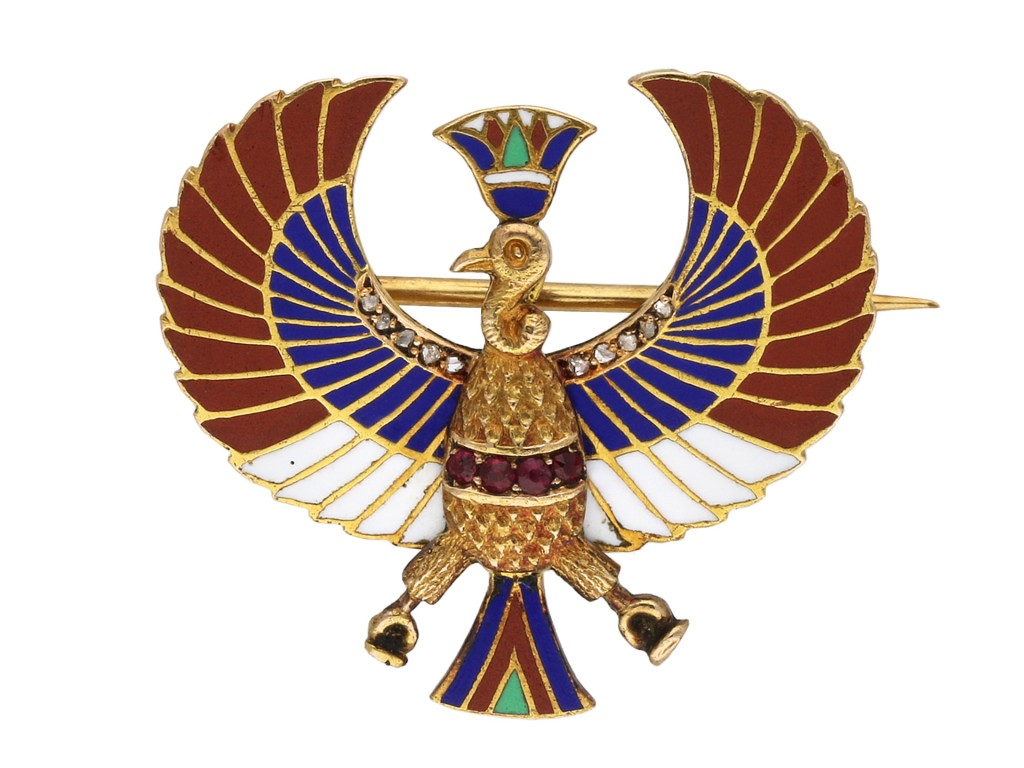 Egyptian revival brooch berganza hatton gardenEgyptian revival brooch berganza hatton garden
