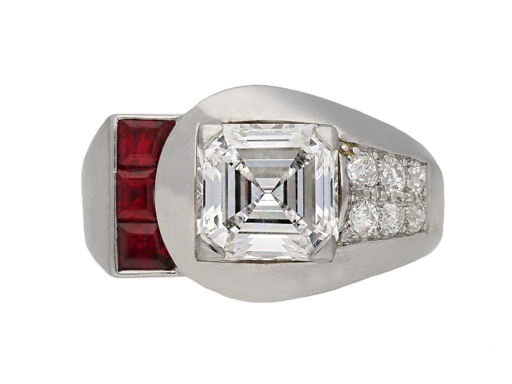 Yard Inc. diamond and ruby ring berganza hatton garden