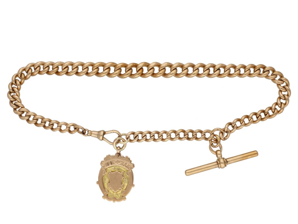 John Goode & Sons rose gold Albert chain berganza hatton garden