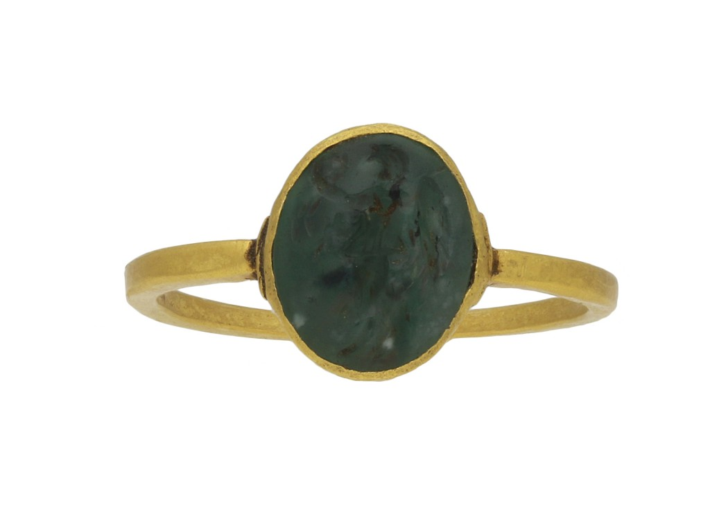 Ancient Roman signet ring berganza hatton garden