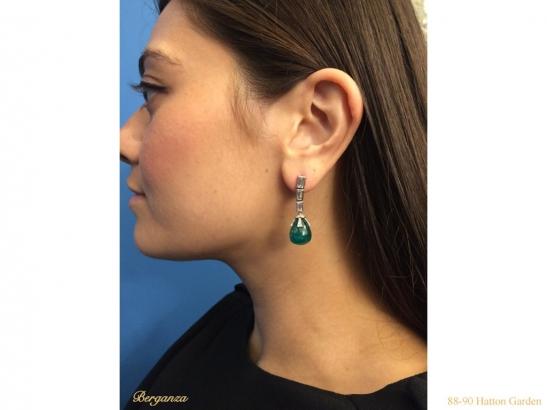 --antique-diamond-emerald-earrings-berganza-hatton-garden