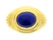 alt='Boucheron Paris lapis lazuli ring, French, circa 1970.'