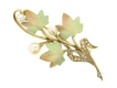 alt='front-view-Antique enamel, pearl and diamond brooch'