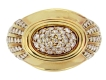 alt='front-view-Boucheron diamond dress ring, circa 1988.'