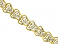Art Nouveau diamond bracelet.