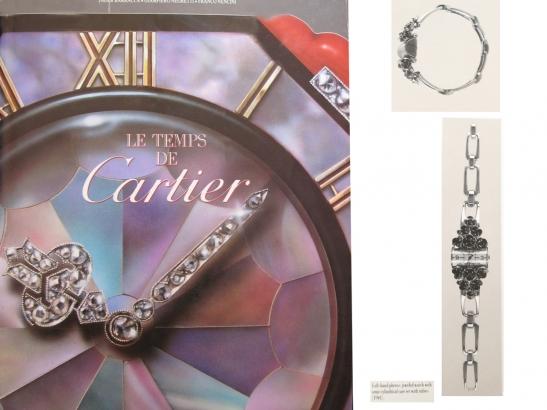 book view vintage Cartier ruby set watch berganza hatton garden