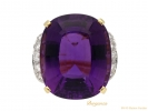 front tiffany amethyst diamond ring berganza hatton garden