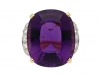 tiffany amethyst diamond ring berganza hatton garden