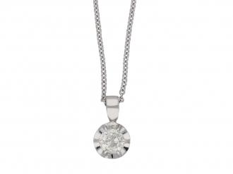 Old cut diamond pendant berganza hatton garden