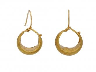 Ancient Roman earrings berganza hatton garden