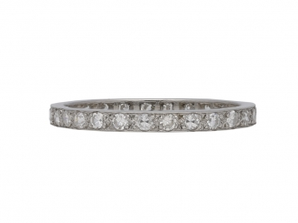 Diamond eternity band berganza hatton garden