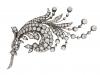 Antique diamond spray brooch, Germany, circa 1880 berganza hatton garden