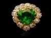 demantoid diamond cluster ring hatton garden berganza