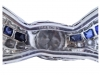 mark view Marcus & Co. sapphire and diamond bow brooch,