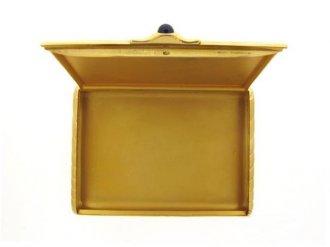 front view Fabergé gold case