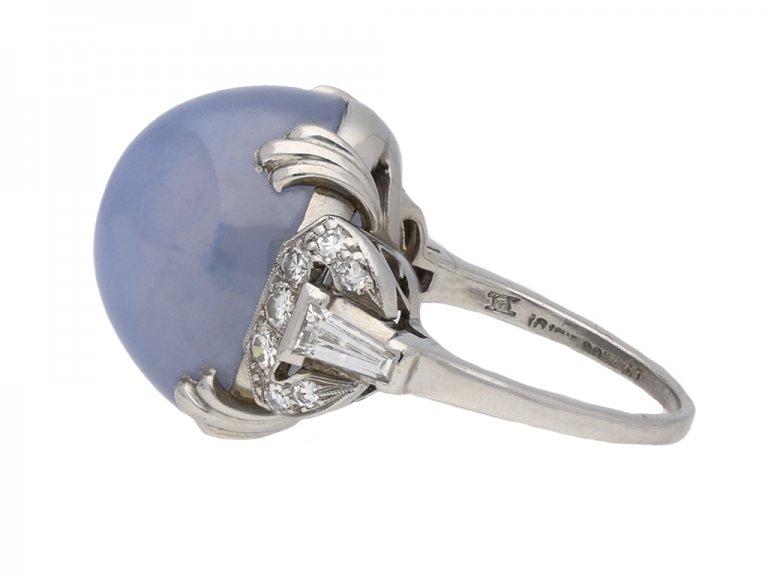 Ceylon star sapphire and diamond ring berganza hatton garden