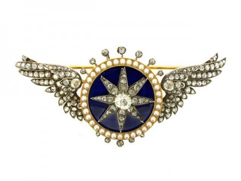 Attributed to Garrard automated turban brooch (sarpech), circa 1910. berganza hatton garden