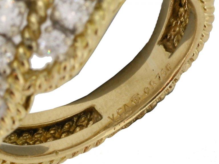 mark view Diamond cocktail ring by Van Cleef & Arpels