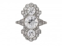 antique diamond ornate ring berganza hatton garden