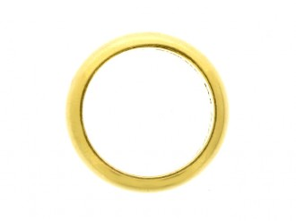 Yellow gold wedding ring by Tiffany & Co, American.