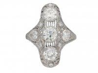 J E Caldwell diamond ring berganza hatton garden