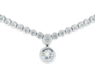 Diamond necklace, berganza hatton garden