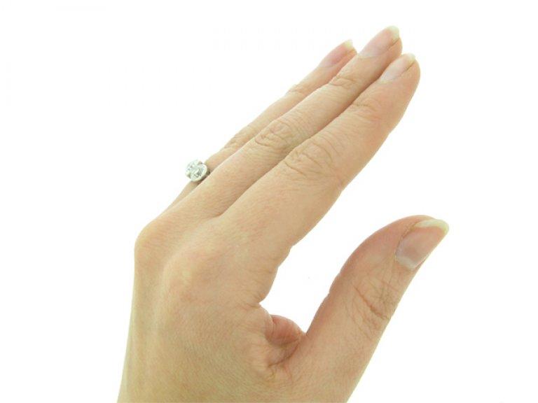 antique Diamond three stone ring berganza hatton garden
