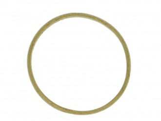 back vie wGold posy ring, 'I give it thee to think on me',