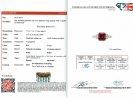 Art Deco Burmese ruby and diamond ring berganza hatton garden