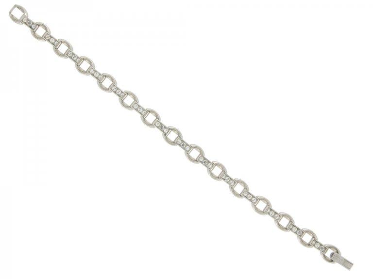 Oscar Heyman Brothers vintage diamond bracelet