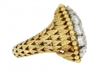 Cartier Paris vintage diamond dress ring