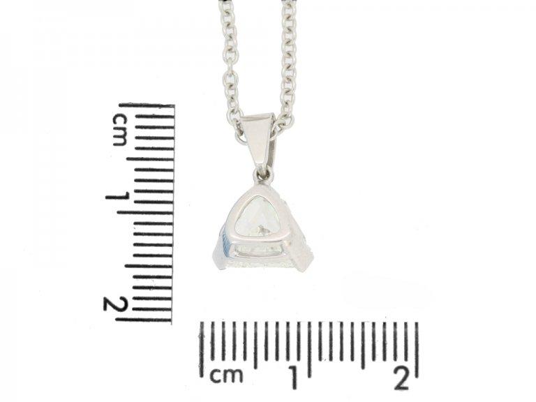 Vintage diamond pendant