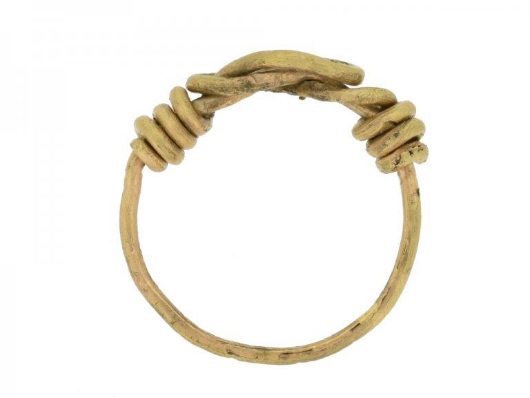 back ancient gold viking ring berganza hatton garden